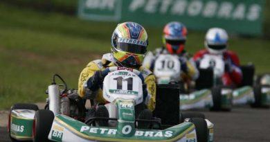 Kart: Felipe Guimarães termina a Seletiva Petrobras em terceiro
