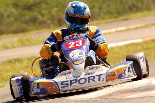 Kart: Gabriel Navarrete parte para o Bi no Super Centro-Oeste