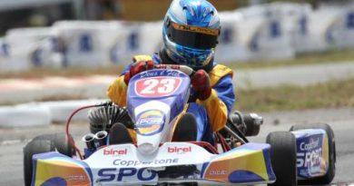 Kart: Gabriel Navarrarete começa em 3º no Sul-Brasileiro