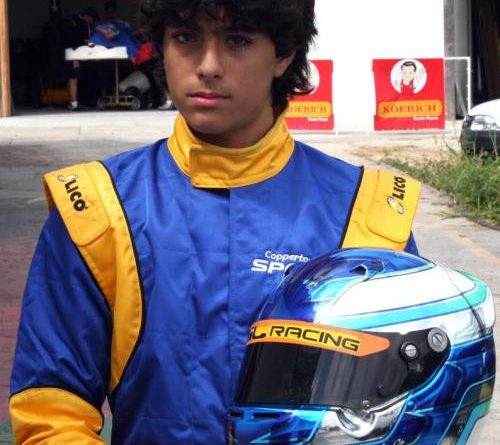 Kart: Gabriel Navarrete terá seu primeiro desafio em casa