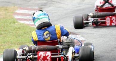 Kart: Com pneu furado, Gabriel Navarrete termina em sexto no Light