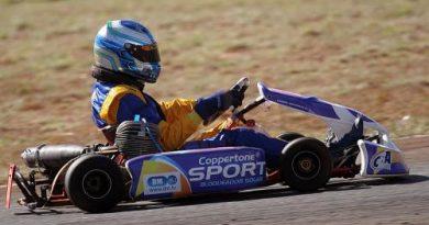 Kart: Gabriel Navarrete chega em terceiro no Super Centro-Oeste