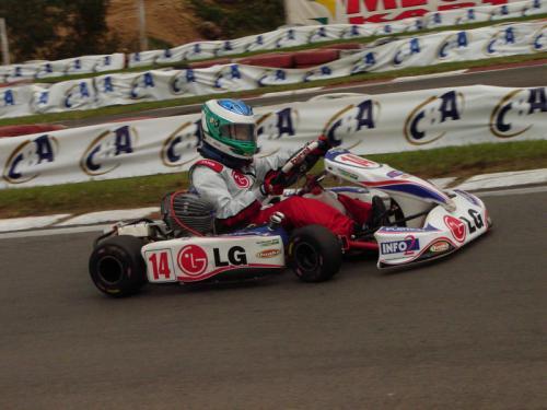 Kart: Guilherme Silva, de ponta a ponta, vence as duas baterias do Sul-Brasileiro