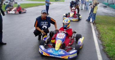 Kart: Depois de grave acidente, Jonathan Louis volta com toda a força