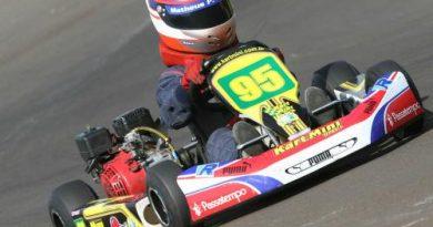 Kart: Matheus Chequer disputa terceira etapa do Campeonato Paulista