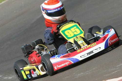 Kart: Matheus Chequer faz bons treinos, mas termina em oitavo no Open Master
