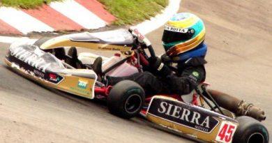 Kart: Após grande apresentação no Sul-Brasileiro, Matheus Rotta recebe premiação da FASP