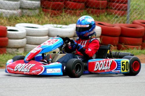 Kart: Problemas no motor complicam corrida de Raphael Raucci