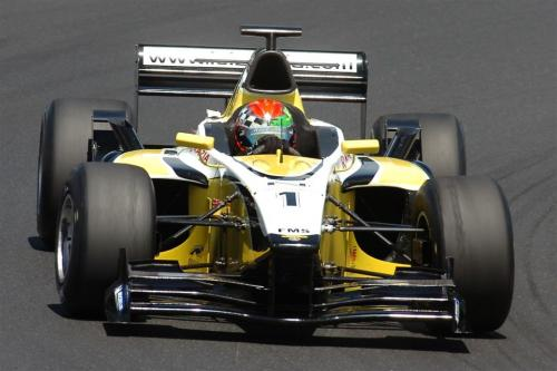 F3000 Euroseries: Razia faz terceiro melhor tempo na França