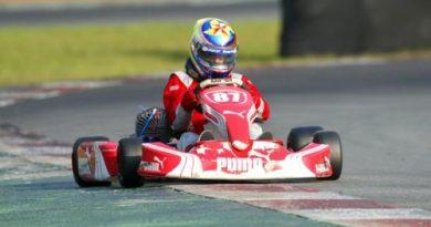 Kart - Brasileiro: Guerin foi o 3º colocado na primeira bateria da Júnior