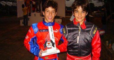 Kart: Vinicius Alvarenga/Matheus Protti chegam em 2º lugar na Granja Viana e sobem na classificação
