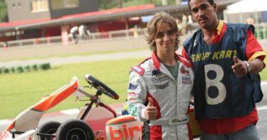 Kart: Com problemas, Sammarone termina em sexto no Paulista Light