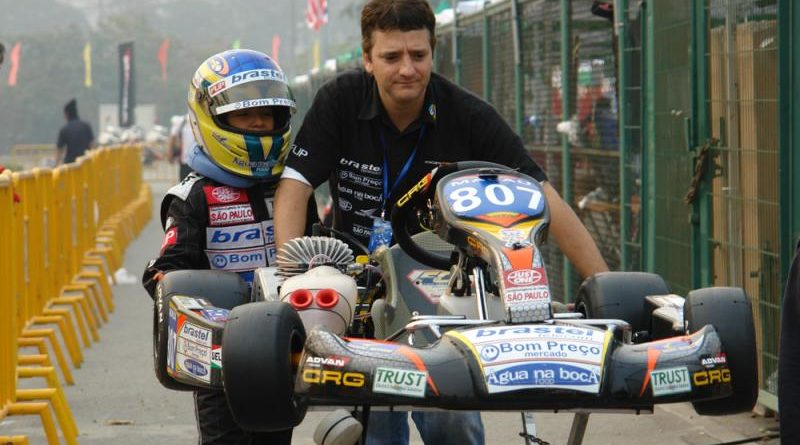 Kart: Igor Fraga é vice na final do AKOC(Asian karting Open Championship) em Macau