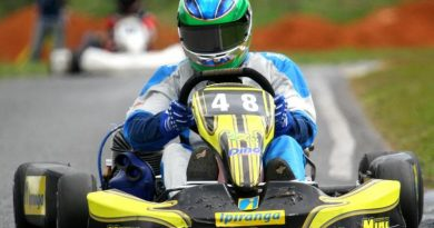 Kart: Lucas Foresti conquista tríplice título no Distrito Federal