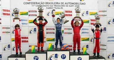 Kart: Gabriel Sereia é campeão no primeiro torneio nacional do ano