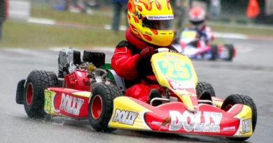 Kart: Giuliano Raucci sobe no pódio da Cadete na quinta etapa