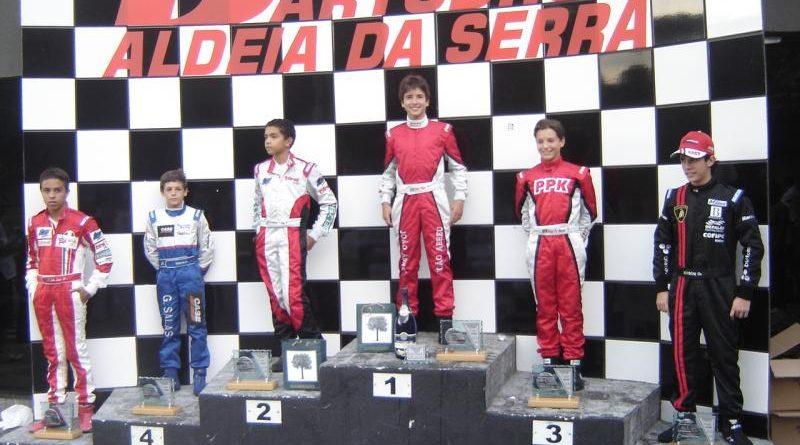 Kart: Barba, cabelo e bigode na primeira vitória de João Abreu na temporada 2008