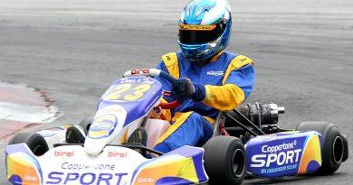 Kart: Gabriel Navarrete vai ao Velopark treinar para o Brasileiro