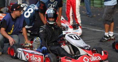 Kart: Pietro Fantini iniciou luta pelo título paranaense