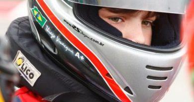 Kart: Thiago Vivacqua comemora segundo lugar em etapa da Copa SP Light