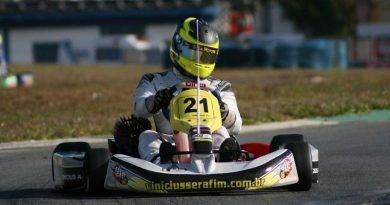 Kart: De olho no título do Super Paulista, Vinícius Serafim volta a correr em Limeira