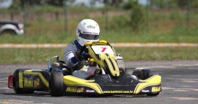 Kart: Brenno César fará, neste fim de semana, primeira corrida em casa