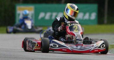 """Kart: """"Objetivo é somar pontos e continuar na briga pelo título"""", diz Eduardo Banzoli Filho"""