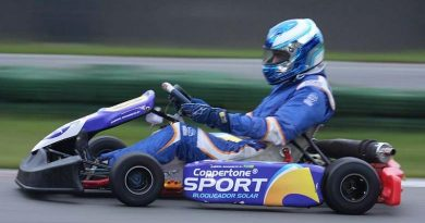 Kart: Segunda etapa do Light foi difícil para Gabriel Navarrete