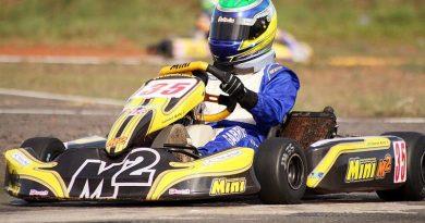 Kart: Gabriel Robe faz prova de recuperação para chegar em 5º no Paulista