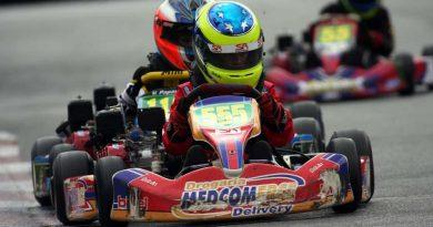 Kart: Luiz Felipe Branquinho assumiu a liderança do Ranking Nacional