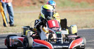Kart: Philipe Pinheiro decepcionado com resultado do Brasileiro de Kart