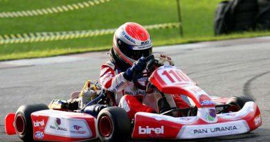 Kart: Cabo de acelerador atrapalha corrida de Thiago Vivacqua