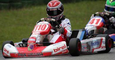 Kart: Após toque, Thiago Vivacqua termina em décimo no light