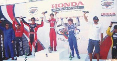Kart: Vinicius Alvarenga brilha e conquista 3º lugar na Granja Viana