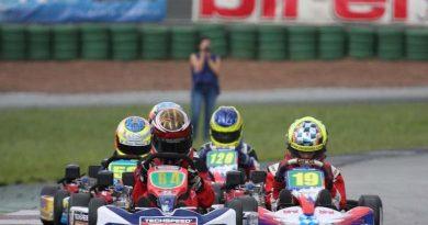 Kart: Em prova brilhante, Yurik Carvalho chegou em terceiro no Light