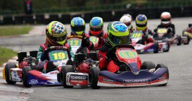 Kart: Yurik Carvalho consegue 2ª posição no Light