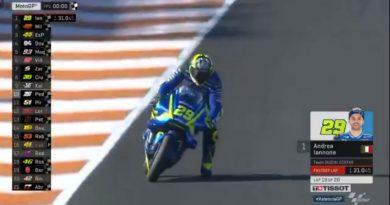 MotoGP: Iannone e Lorenzo lideram primeiro dia de treinos da Moto GP em Valência