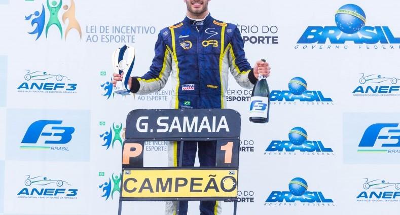 F3 Brasil: Samaia e Fraga vencem duas vezes em Goiânia e conquistam os títulos da temporada