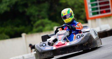 Kart: Alberto Otazú não se classificou no Monster Kart Experience
