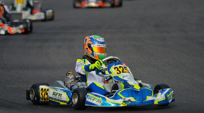 Kart: Kiko Porto acelera em Adria para as finais do WSK Final Cup