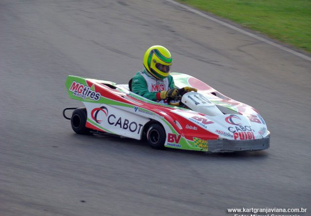 Kart: Equipe de Bruno Pacetti larga em 4º nas 500 Milhas pensando no bicampeonato