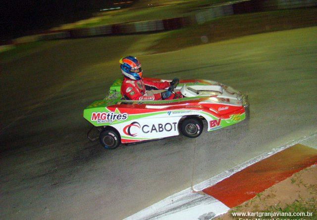 Kart: Batida impossibilita Pacetti de lutar por lugar ao pódio nas 500 Milhas de Kart
