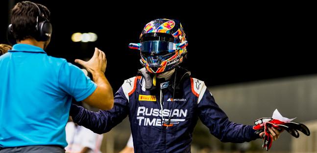 F2: Artem Markelov alinha na pole-position em Abu Dhabi