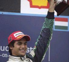 GP2 Series: Nelsinho Piquet vence novamente na Hungria