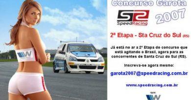 Concurso Garota SpeedRacing 2007 - Edição Santa Cruz do Sul (RS)