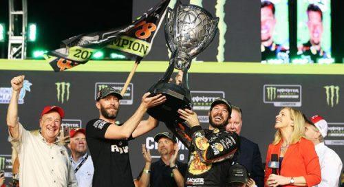 NASCAR Monster Energy Cup Series: Martin Truex Jr. vence em Homested e conquista o título de 2017