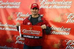 Nascar: Jeff Gordon sai na frente na Califórnia