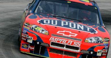 Nascar: Jeff Gordon marca a pole em Martinsville