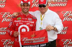 Nascar: Reed Sorenson marca a pole em Indianápolis