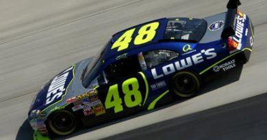 Nascar: Jimmie Johnson sai na pole em Dover